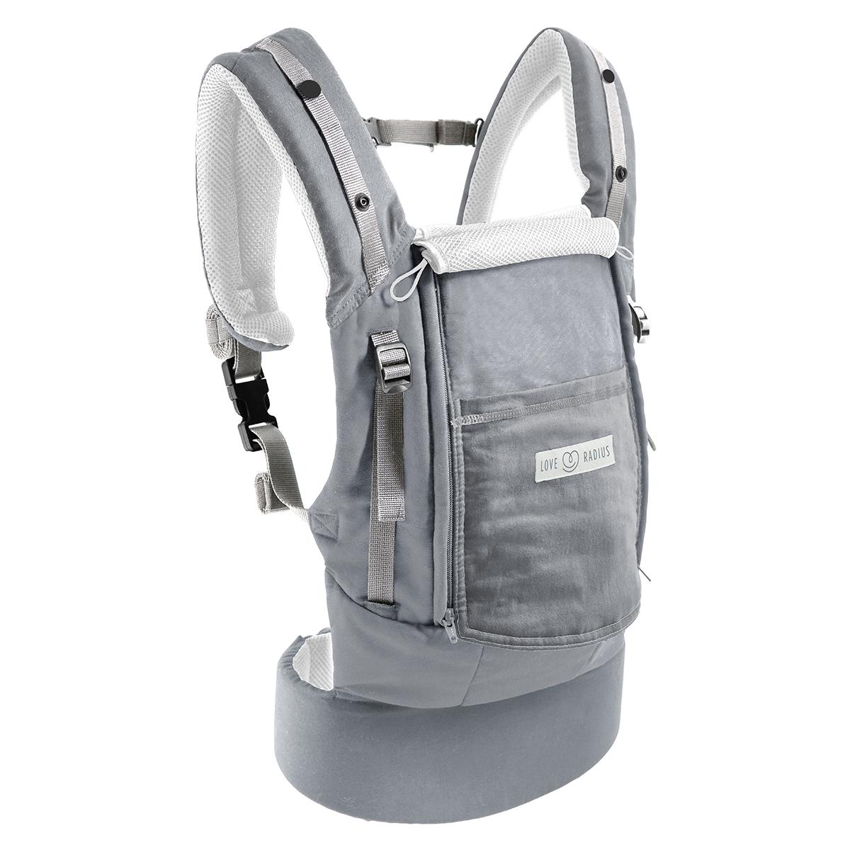 Porte bébé Porte-bébé PhysioCarrier et Booster Pack - Gris