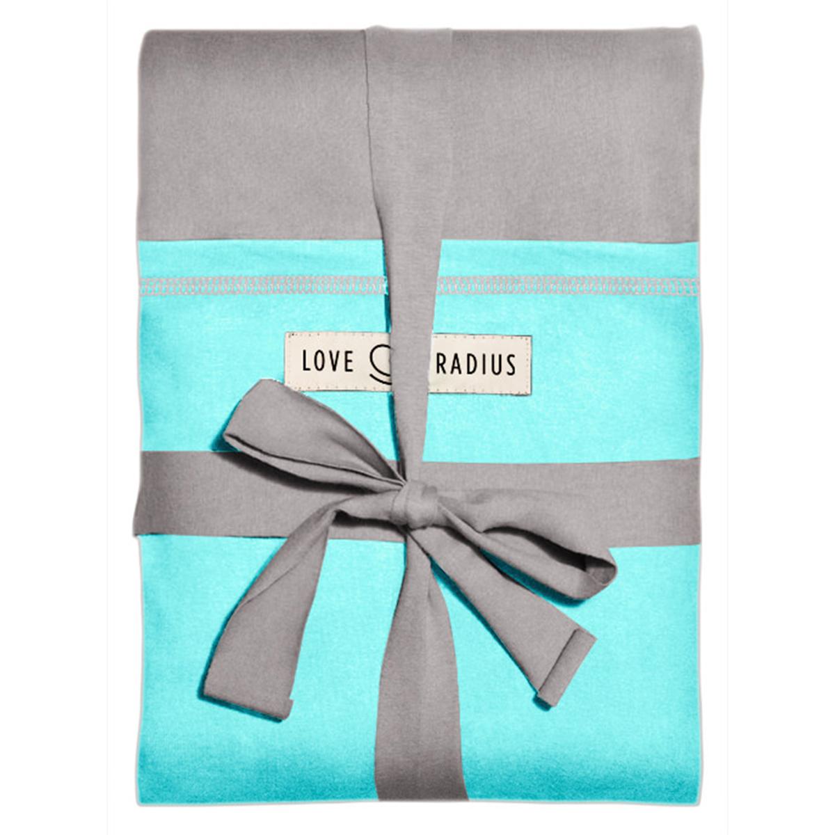 Porte bébé Echarpe de Portage L'Originale - Gris et Turquoise Echarpe de Portage L'Originale - Gris et Turquoise