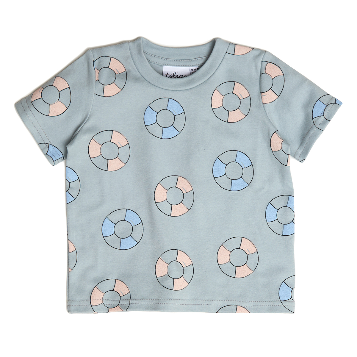 Hauts bébé Tee-Shirt Bouée - 6/12 Mois