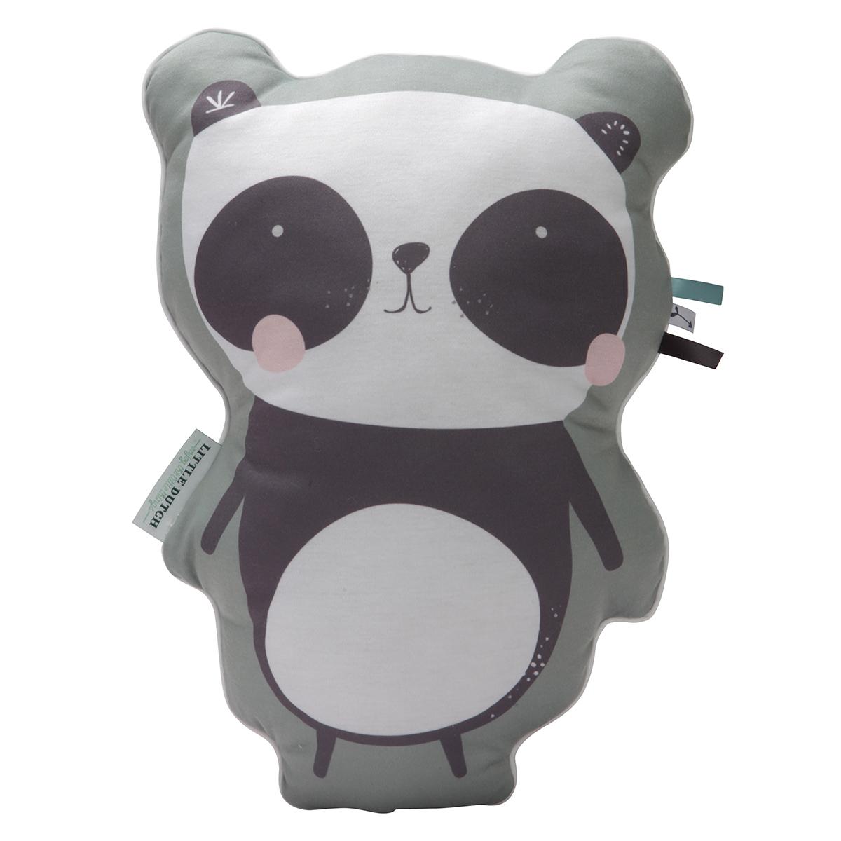 Coussin Coussin Aventure Panda - Menthe Coussin Aventure Panda - Menthe