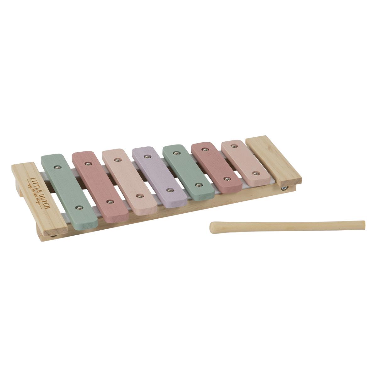 Mes premiers jouets Xylophone en Bois Aventure Rose