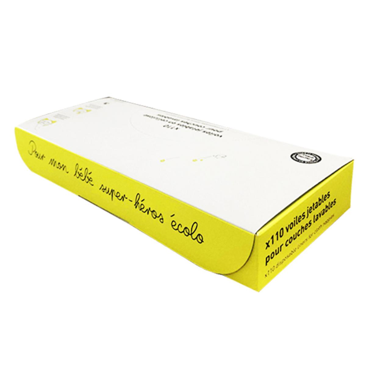 Couche Boîte de 110 Voiles de Protection Boîte de 110 Voiles de Protection