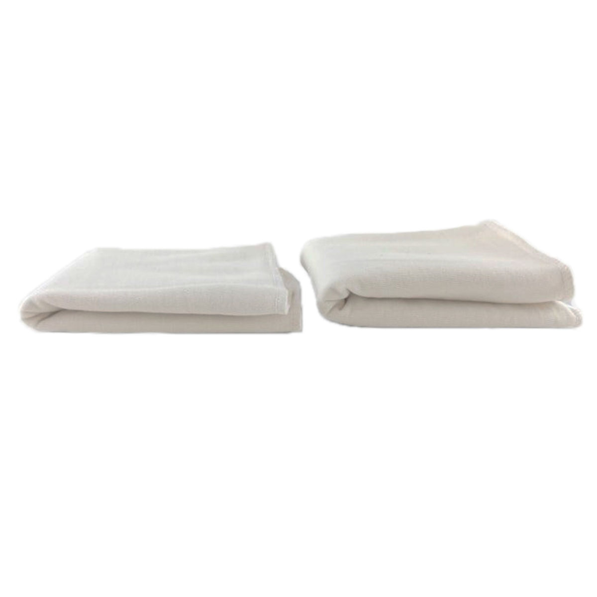Couche Lot de 2 Absorbants Lavables en Coton Bio - Taille 2 Lot de 2 Absorbants Lavables en Coton Bio - Taille 2