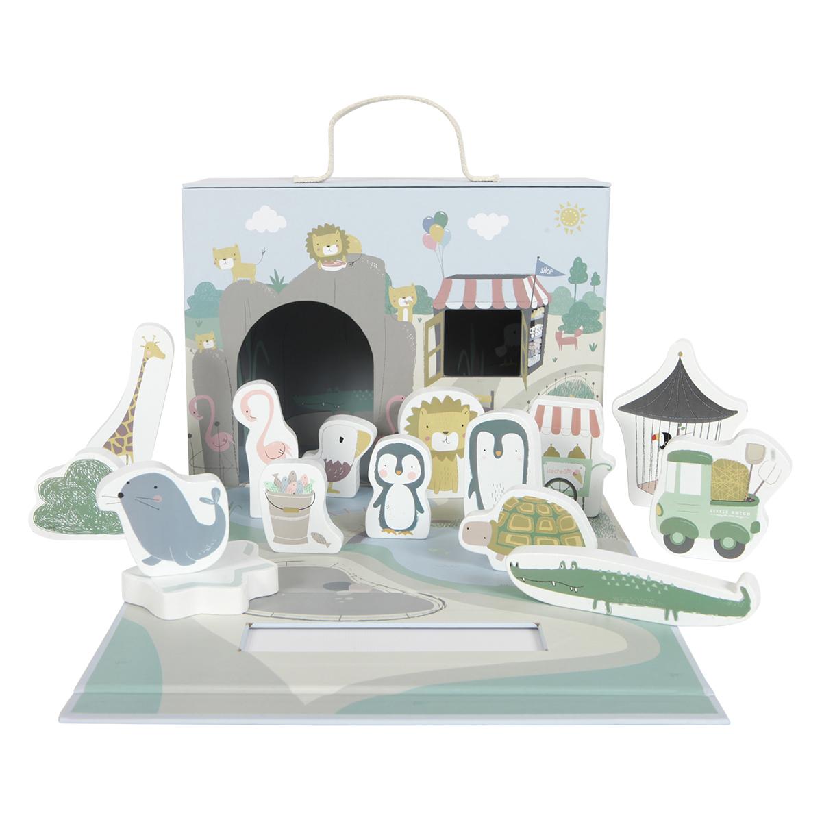 Mes premiers jouets Box de Jeu Zoo Little Dutch - AR201903280024