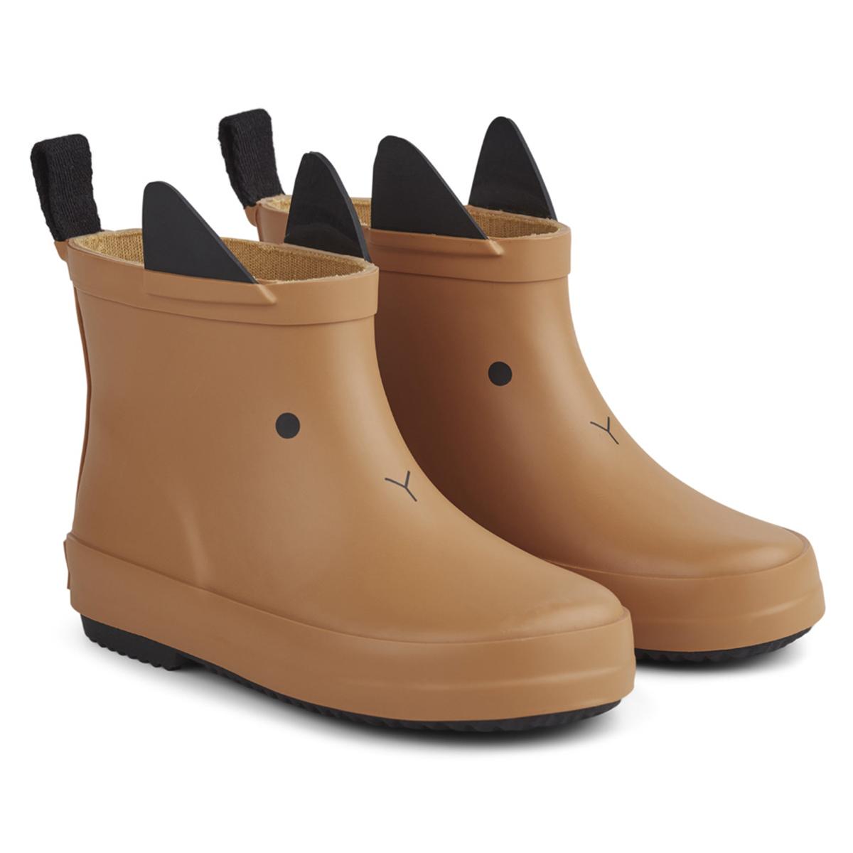 Chaussons & Chaussures Bottes de Pluie Tobi Rabbit Mustard - 26 Bottes de Pluie Tobi Rabbit Mustard - 26
