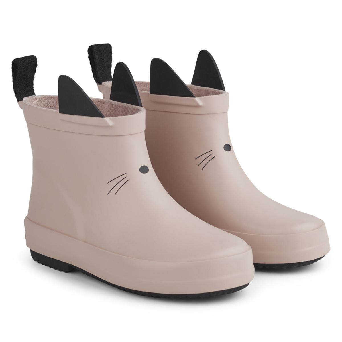 Chaussons & Chaussures Bottes de Pluie Tobi Cat Rose - 23