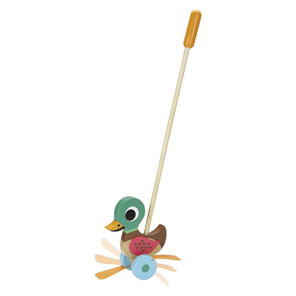 Mes premiers jouets Canard à Pousser par Ingela P. Arrhenius Canard à Pousser par Ingela P. Arrhenius