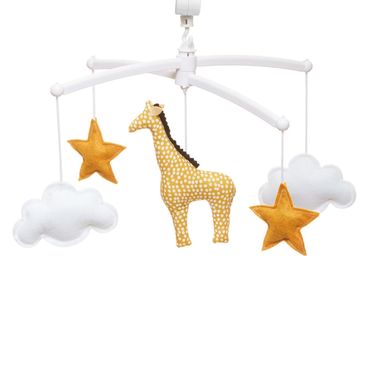 Mobile Mobile Musical Girafe - Jaune Mobile Musical Girafe - Jaune