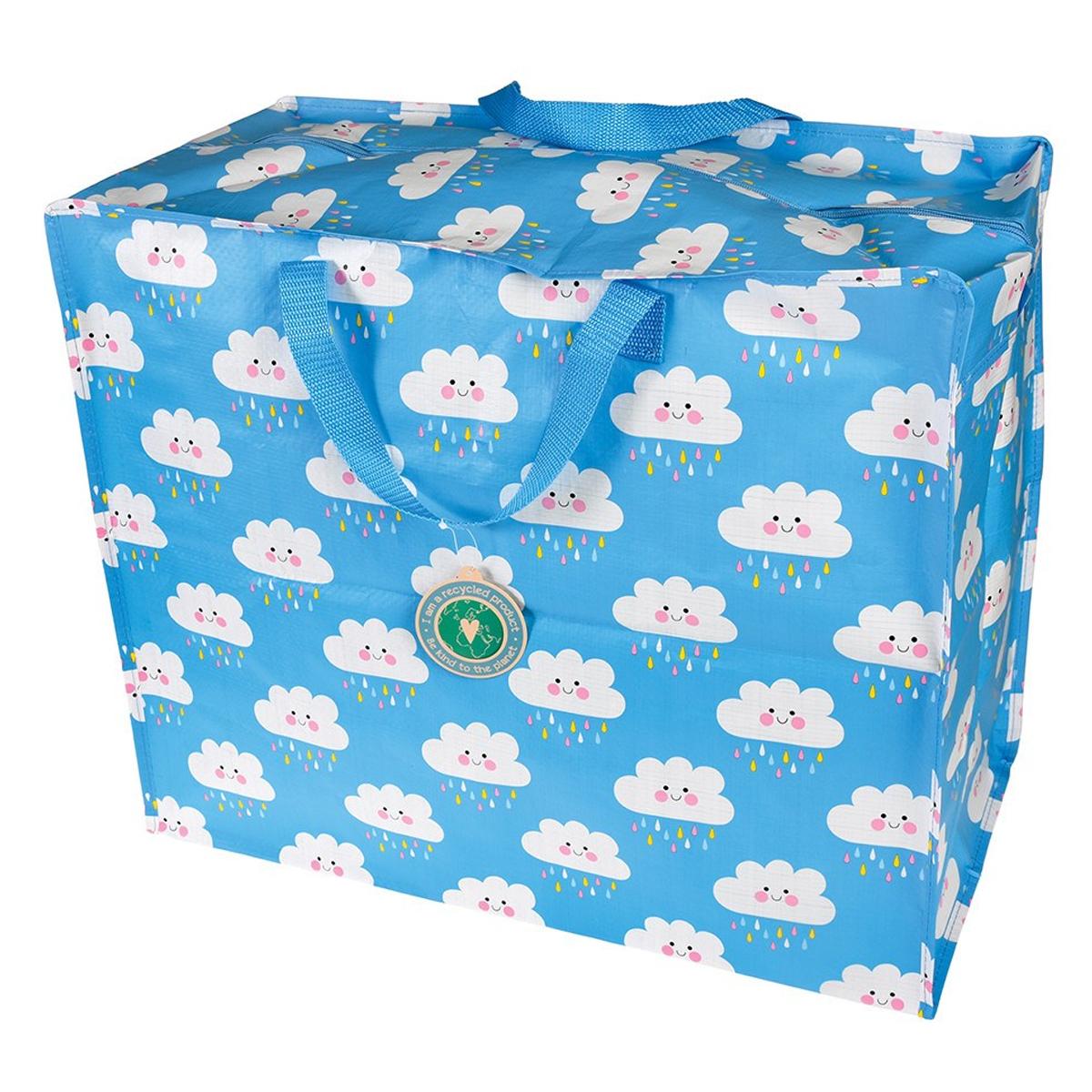 Rangement jouet Sac de Rangement Jumbo - Happy Cloud Sac de Rangement Jumbo - Happy Cloud