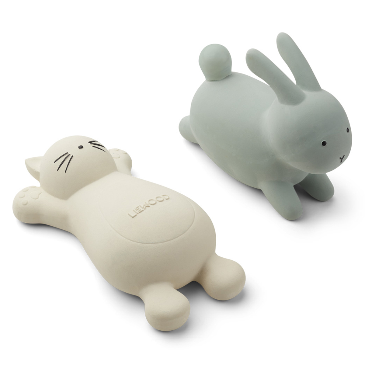 Mes premiers jouets Jouets de Bain Vikky Rabbit Dusty Mint & Cat Crème de la Crème