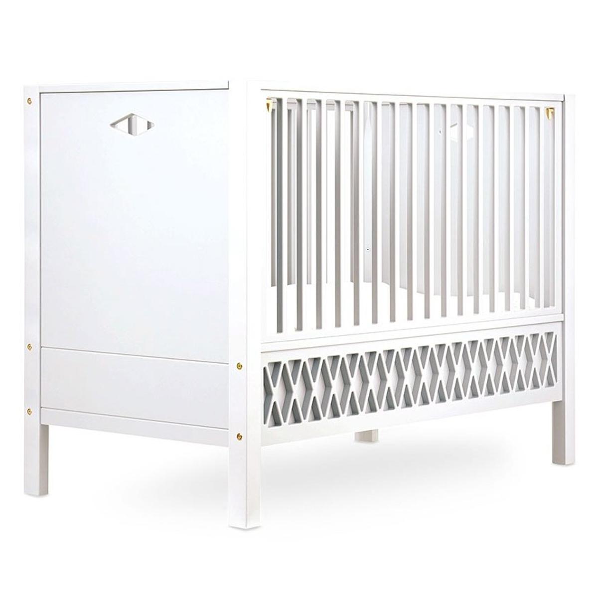 Lit bébé Lit Bébé Evolutif Harlequin Blanc - 60 x 120 cm Lit Bébé Evolutif Harlequin Blanc - 60 x 120 cm