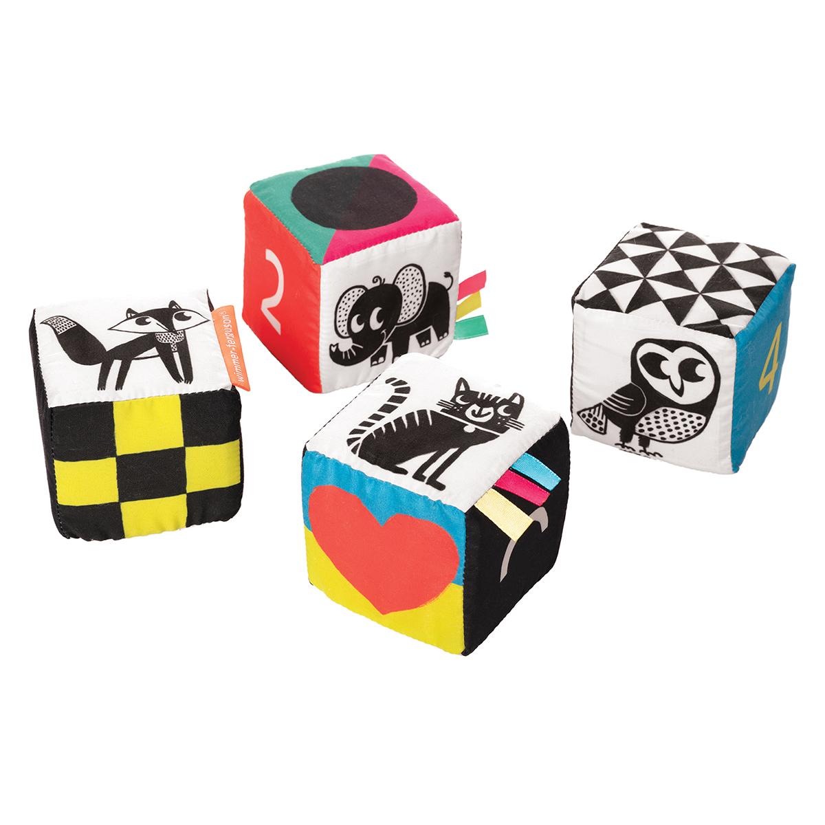 Mes premiers jouets 4 Cubes de Jeux 4 Cubes de Jeux
