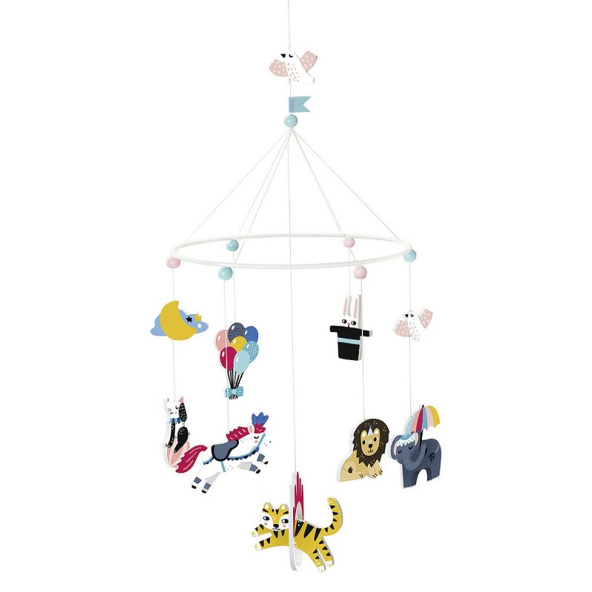 Mobile Mobile Circus par Michelle Carlslund - Grand Modèle