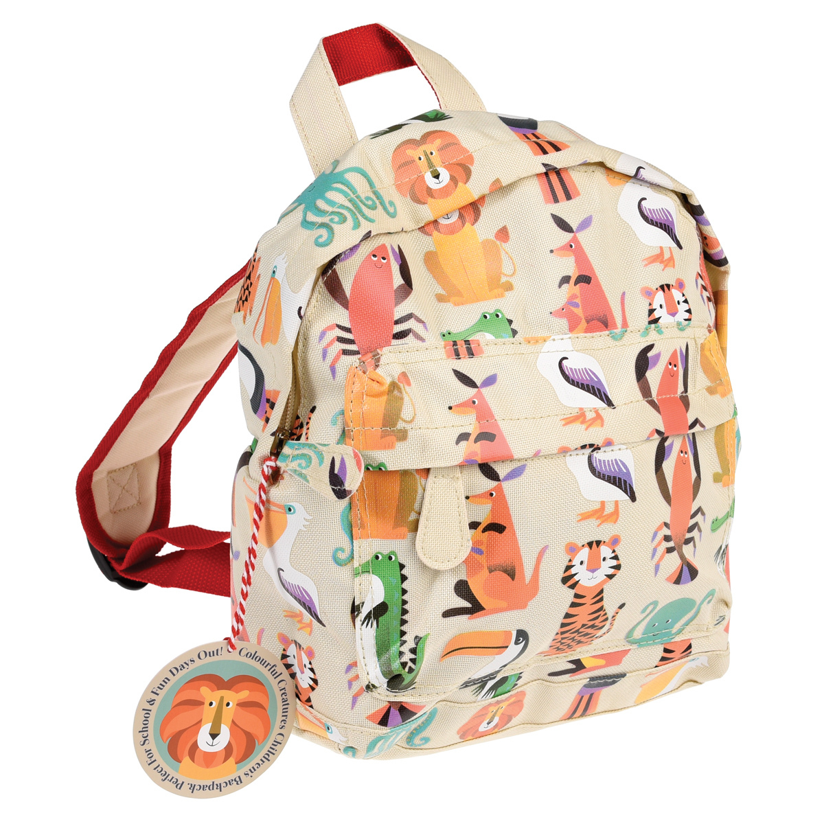 Bagagerie enfant Sac à Dos - Colorful Creatures Sac à Dos - Colorful Creatures