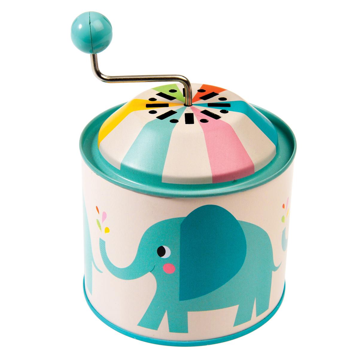 Boîte à musique Boîte à Musique Elvis l'éléphant Boîte à Musique Elvis l'éléphant