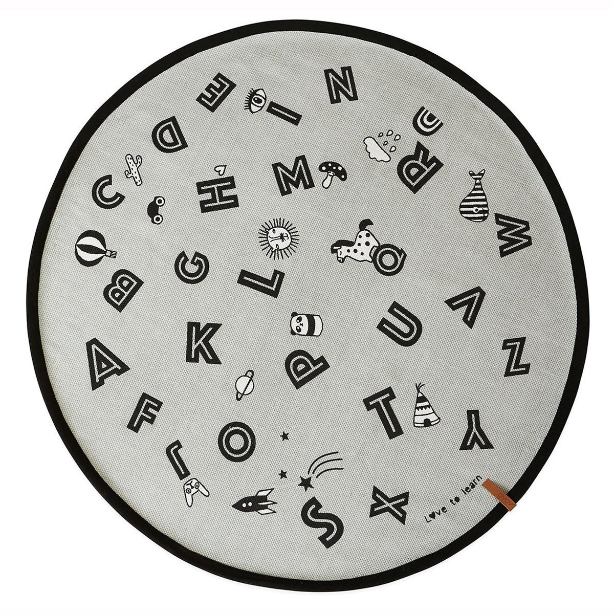 Tapis Tapis Alphabet - Ø 120 cm Tapis Alphabet - Ø 120 cm