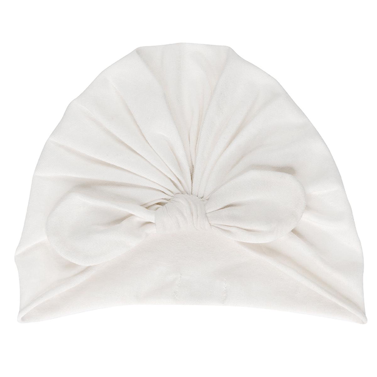Accessoires bébé Bonnet Noeud Cream - 3/6 Mois