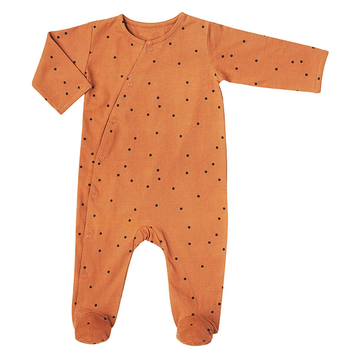 Body & Pyjama Combinaison Jour et Nuit Pois Nut - 6 Mois Combinaison Jour et Nuit Pois Nut - 6 Mois