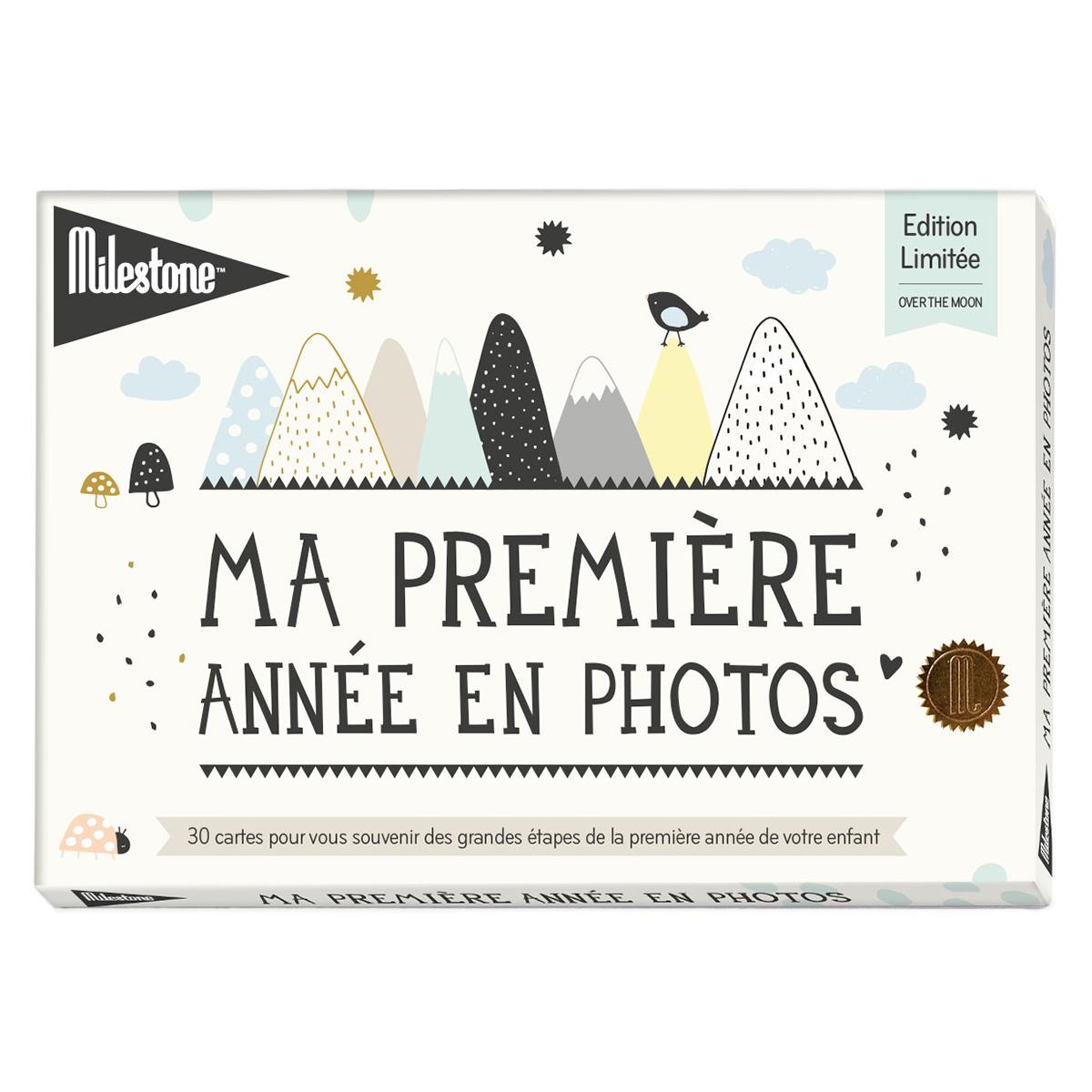 Livre & Carte Cartes Ma Première Année en Photos - Over the Moon Cartes Ma Première Année en Photos - Over the Moon