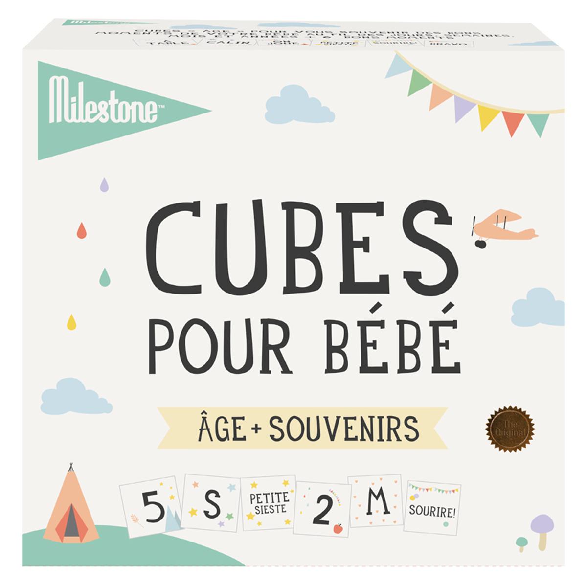 Anniversaire & Fête Cubes Premiers Moments Cubes Premiers Moments