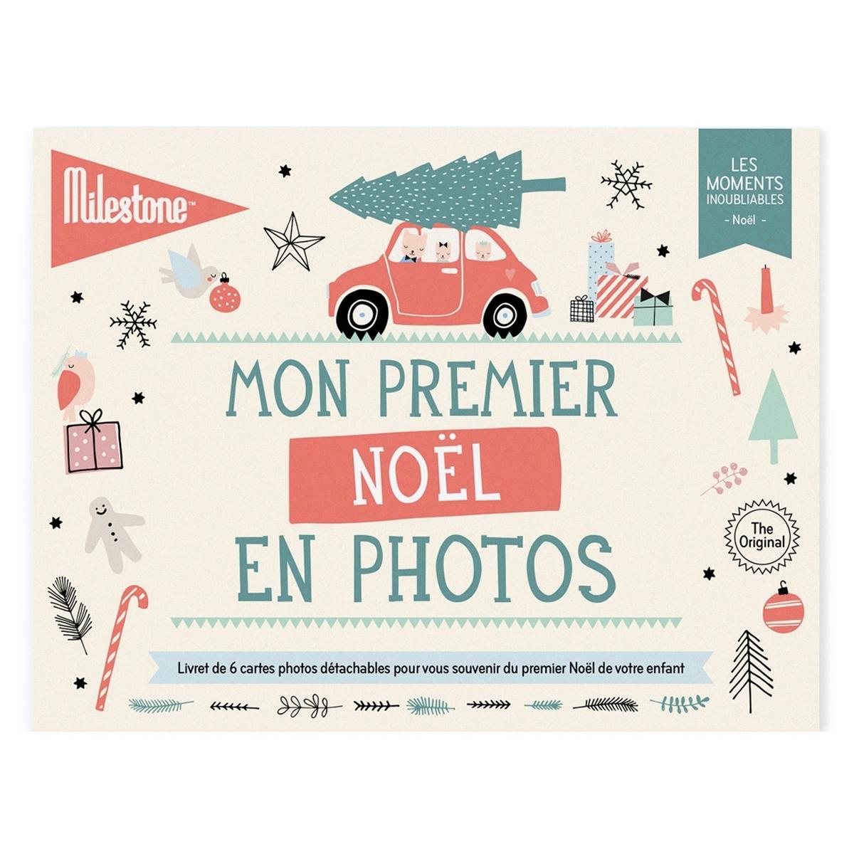 Livre & Carte Cartes Mon Premier Noël en Photos Cartes Mon Premier Noël en Photos