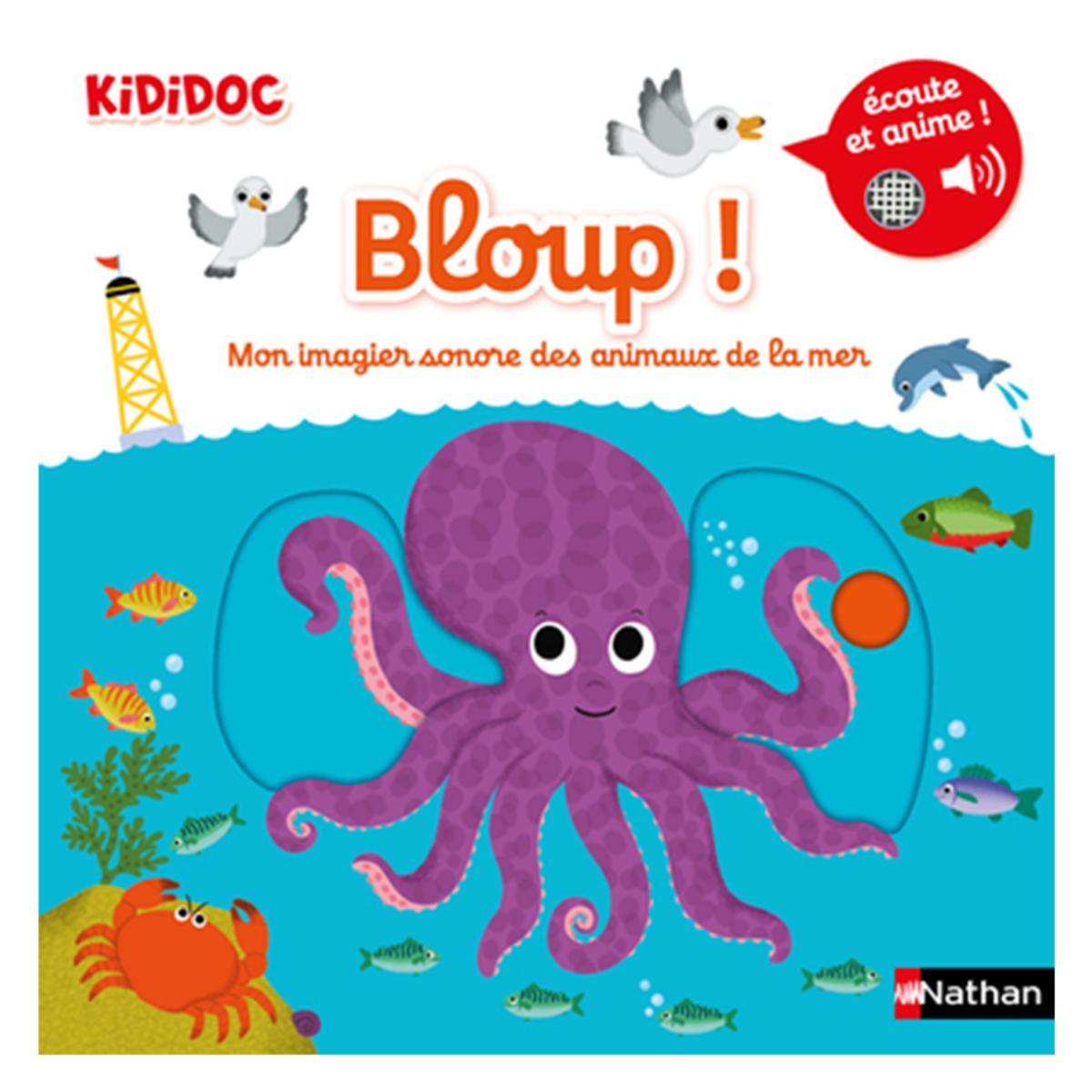 Bloup Mon Imagier Sonore Des Animaux De La Mer
