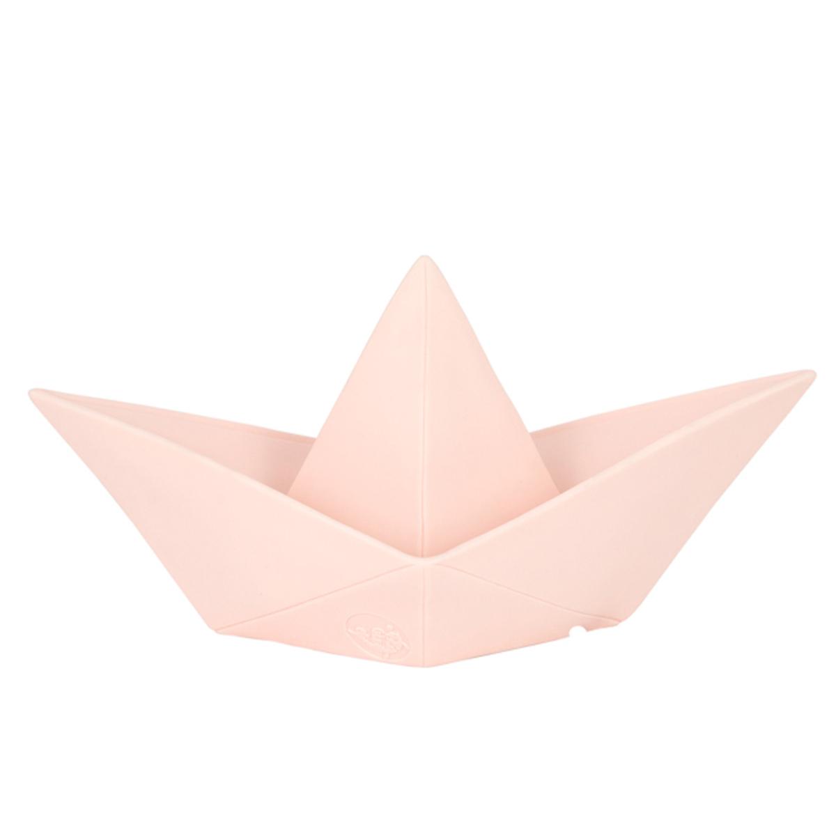 Lampe à poser Lampe Origami Boat - Rose Pâle Lampe Origami Boat - Rose Pâle
