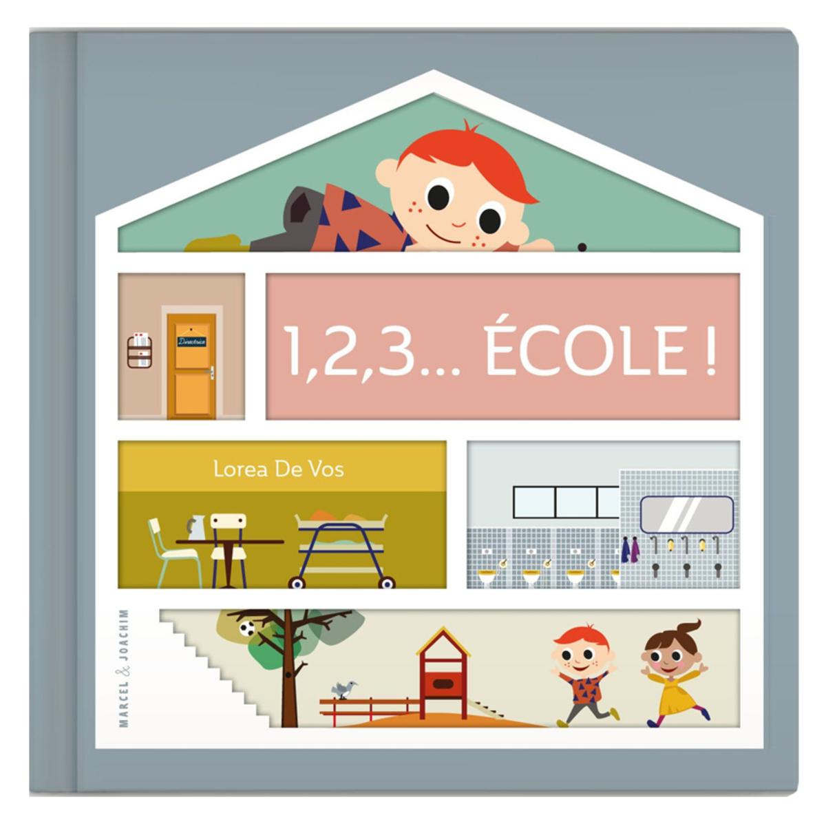 Livre & Carte 1,2,3 Ecole 1,2,3 Ecole