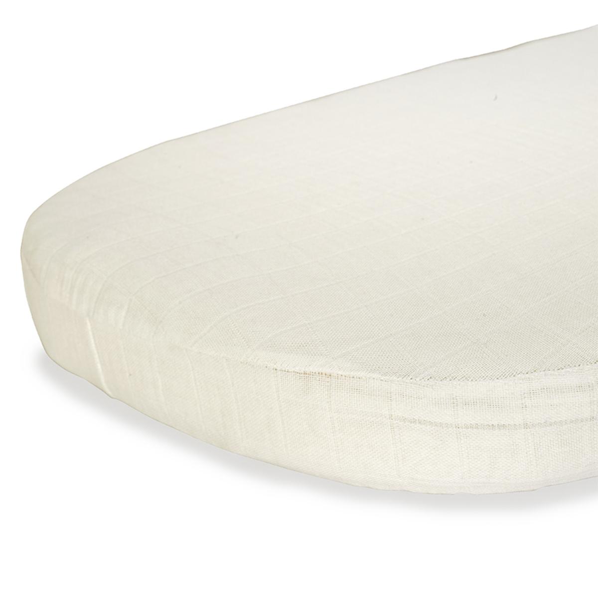 Linge de lit Drap Housse Kumi Papuche Milk - 45 x 68 cm