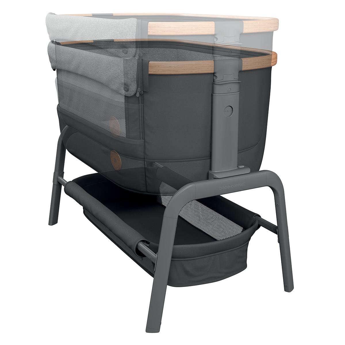b b confort berceau cododo iora essential graphite. Black Bedroom Furniture Sets. Home Design Ideas