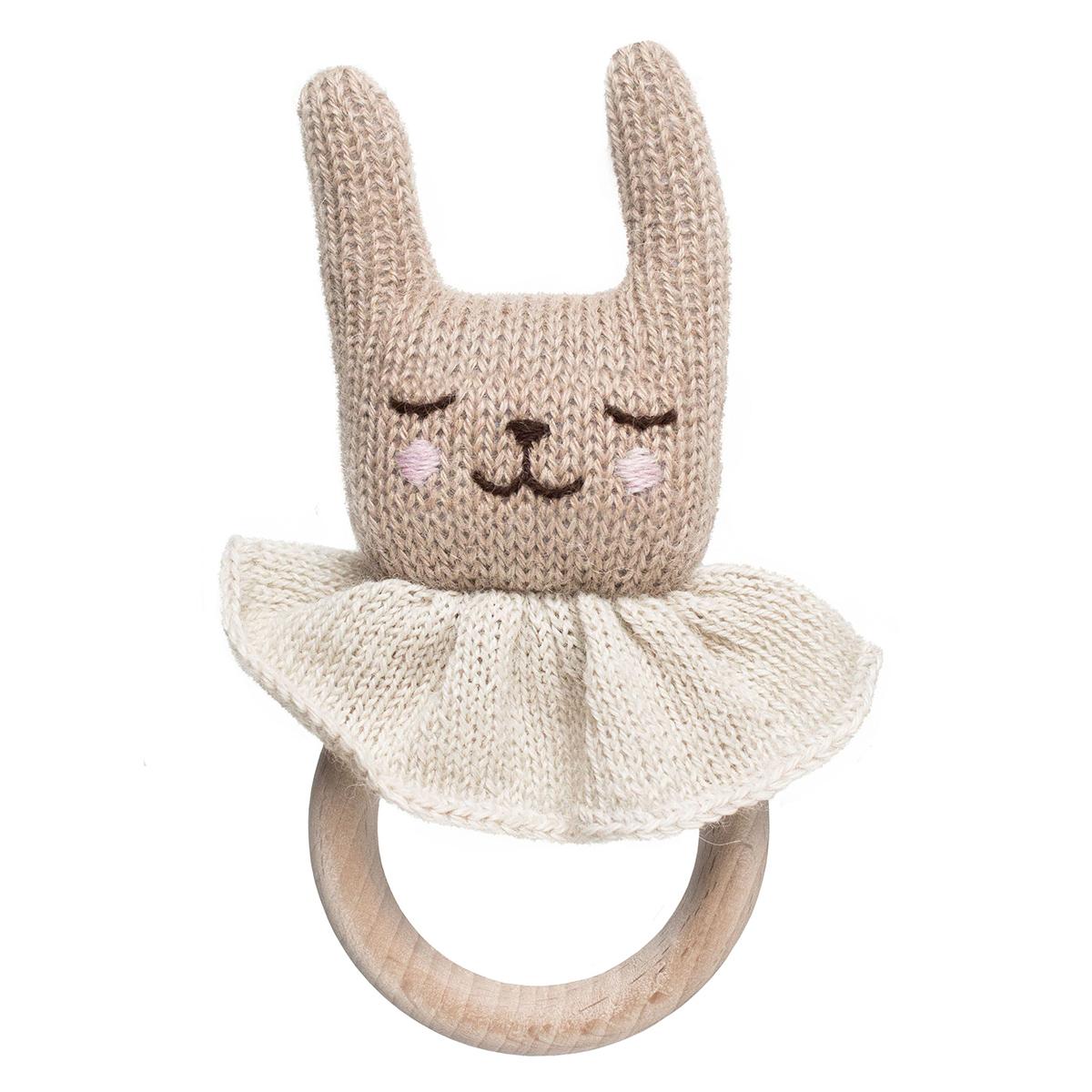 Hochet Hochet de Dentition Rabbit - Beige