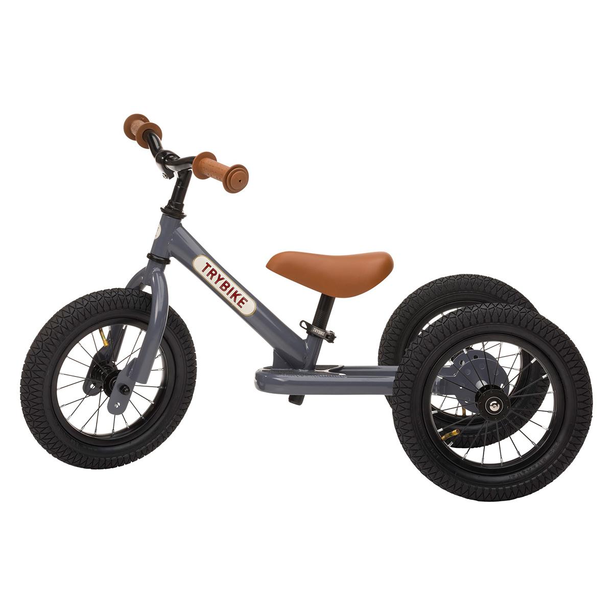 Trotteur & Porteur Trybike 2 en 1 - Anthracite