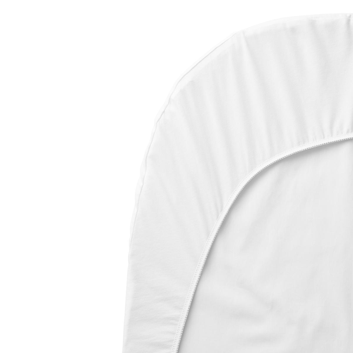 Linge de lit Drap Housse Berceau Evolutif Blanc - 54 x 104 cm Drap Housse Berceau Evolutif Blanc - 54 x 104 cm