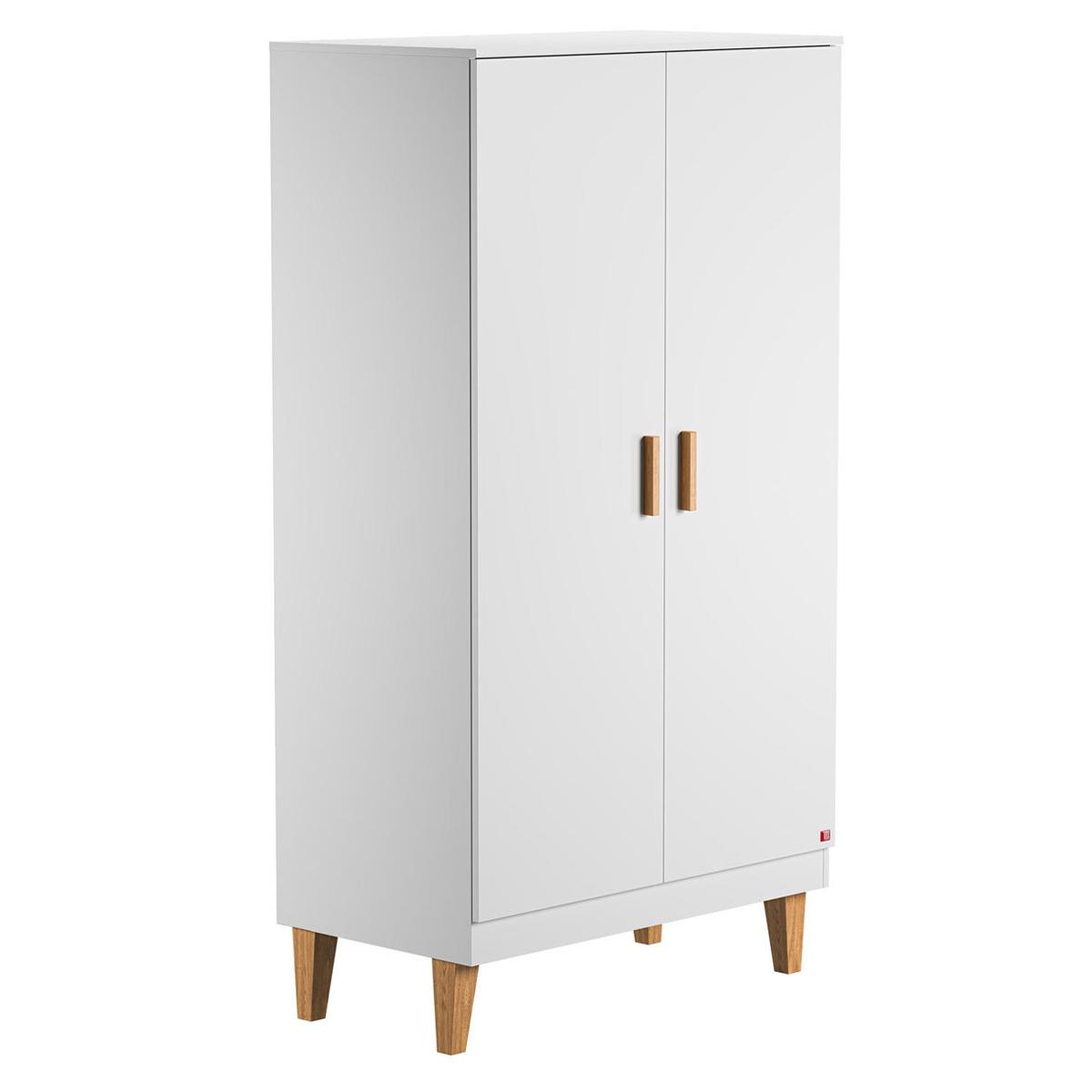 Armoire Armoire 2 Portes Lounge - Blanc