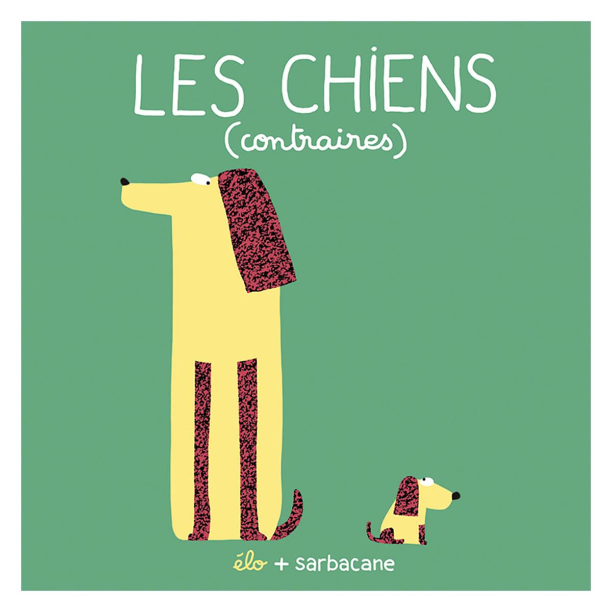 Livre & Carte Les Chiens - Contraires Les Chiens - Contraires
