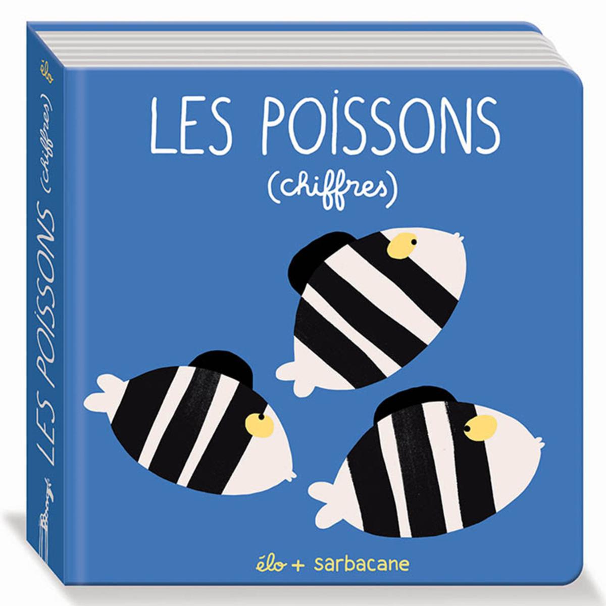 Livre & Carte Les Poissons - Chiffres Les Poissons - Chiffres