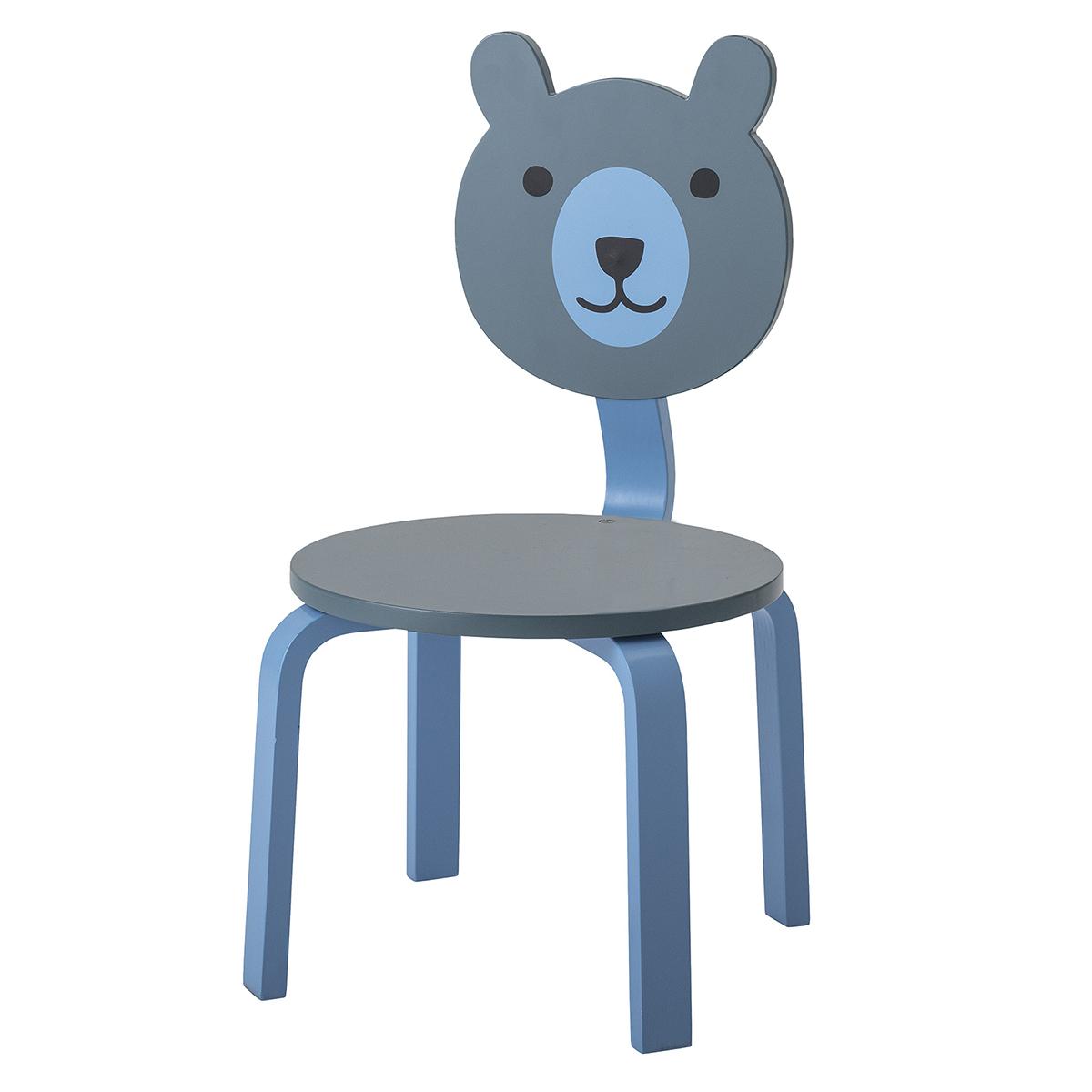 Table & Chaise Chaise Ours - Bleu Chaise Ours - Bleu
