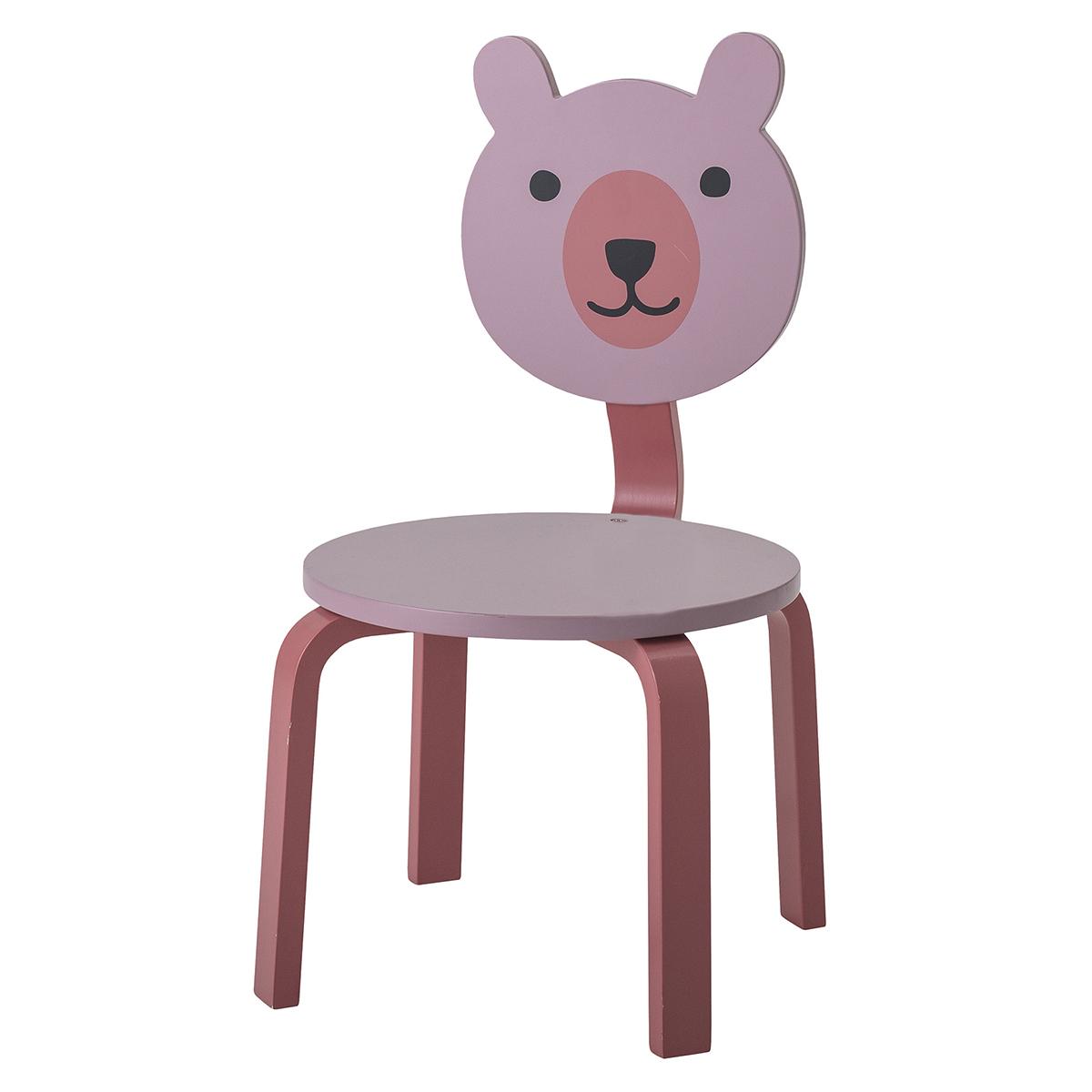 Table & Chaise Chaise Ours - Rose Chaise Ours - Rose