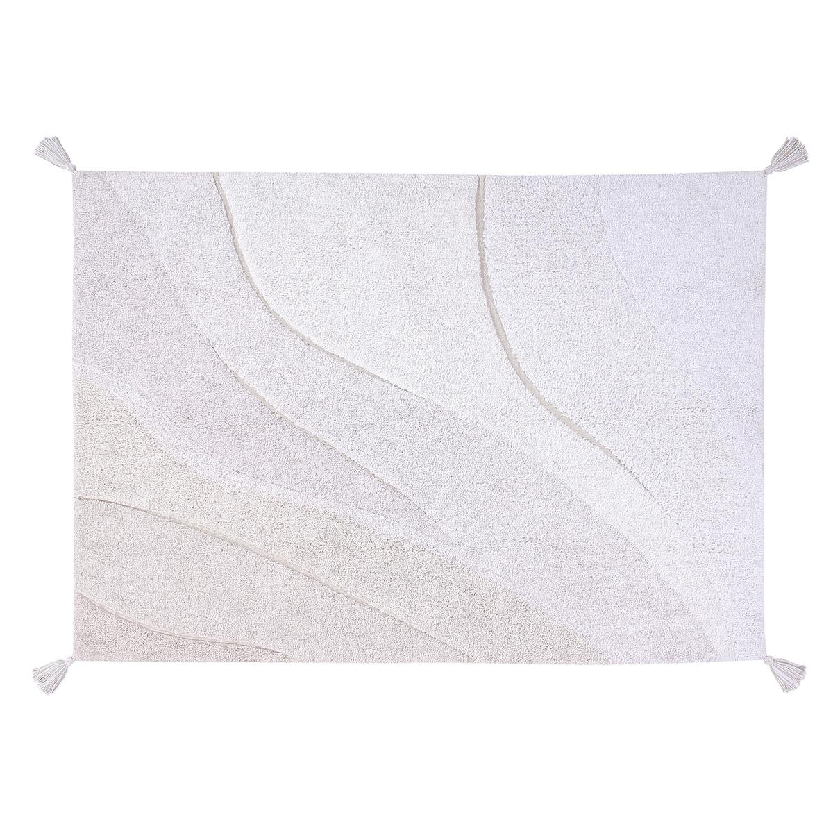 Tapis Tapis Lavable Coton Dégradé Beige - 140 x 200 cm Tapis Lavable Coton Dégradé Beige - 140 x 200 cm