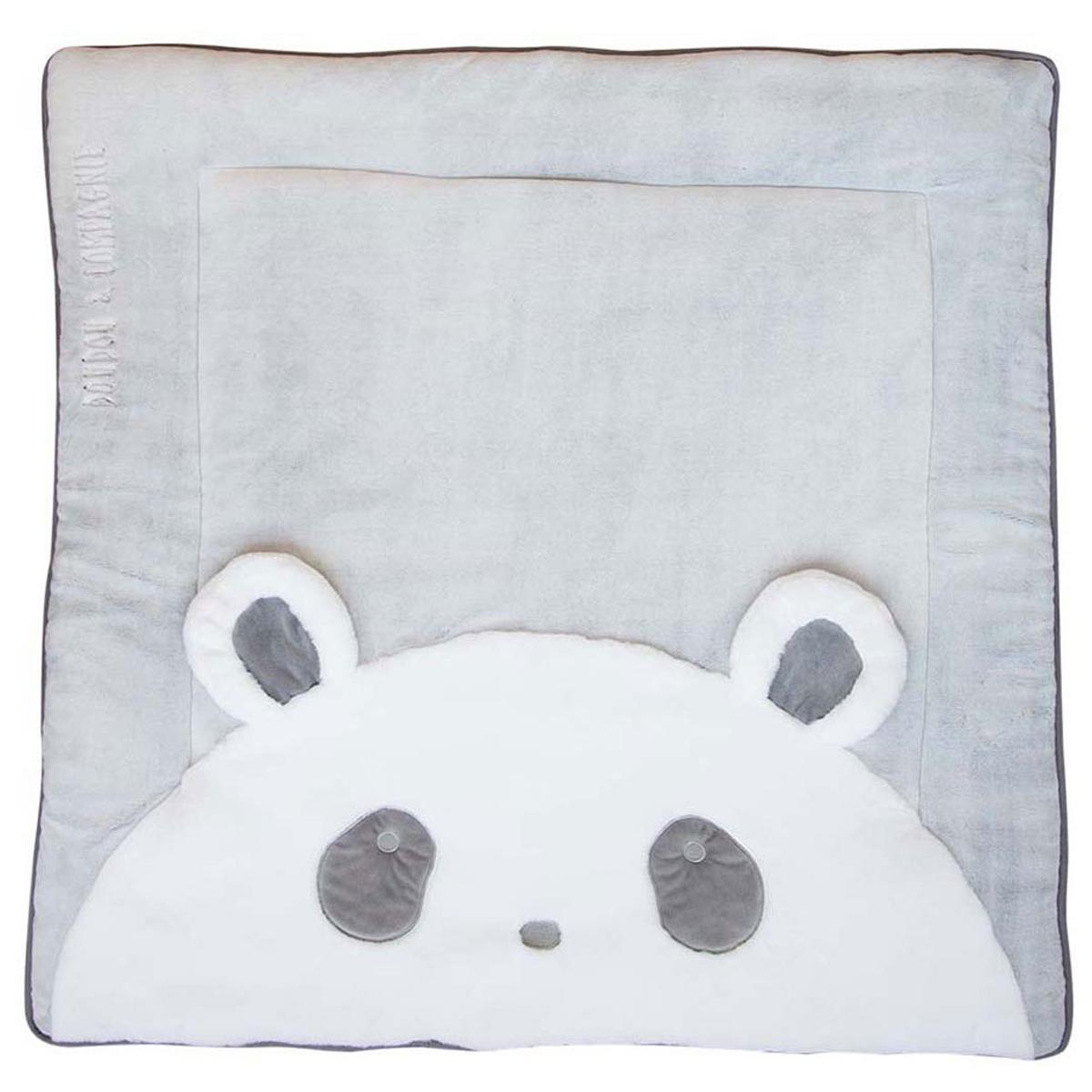 Tapis Tapidou Panda - 100 x 100 cm