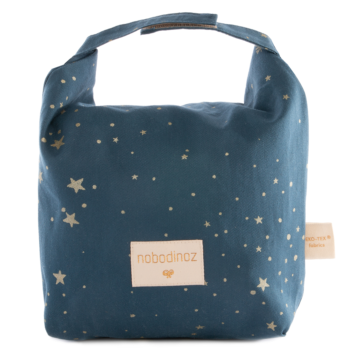 Sac isotherme Lunch Bag Waterproof - Gold Stella & Night Blue Lunch Bag Waterproof - Gold Stella & Night Blue