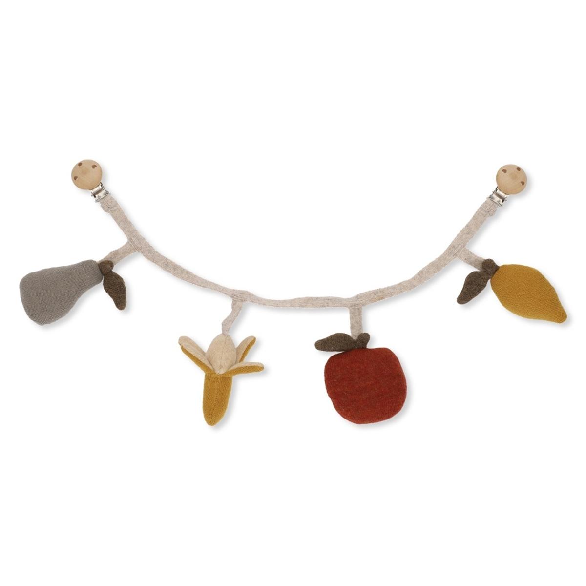 Konges Sløjd Chaîne de Poussette Fruits - Accessoires poussette