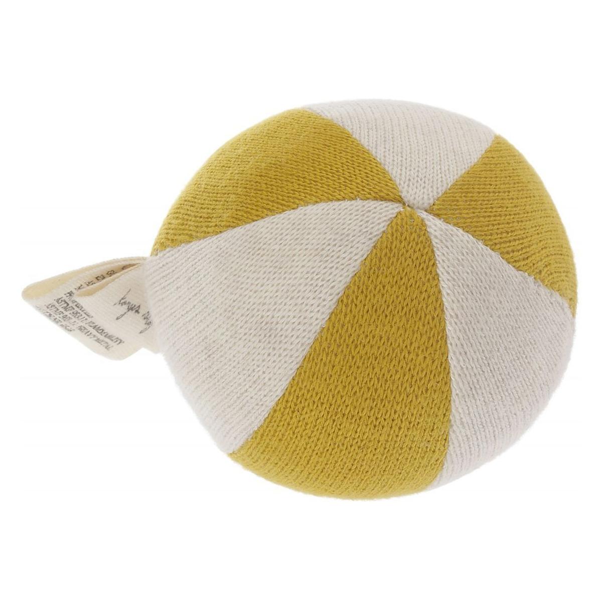 Hochet Hochet Ballon - Moutarde