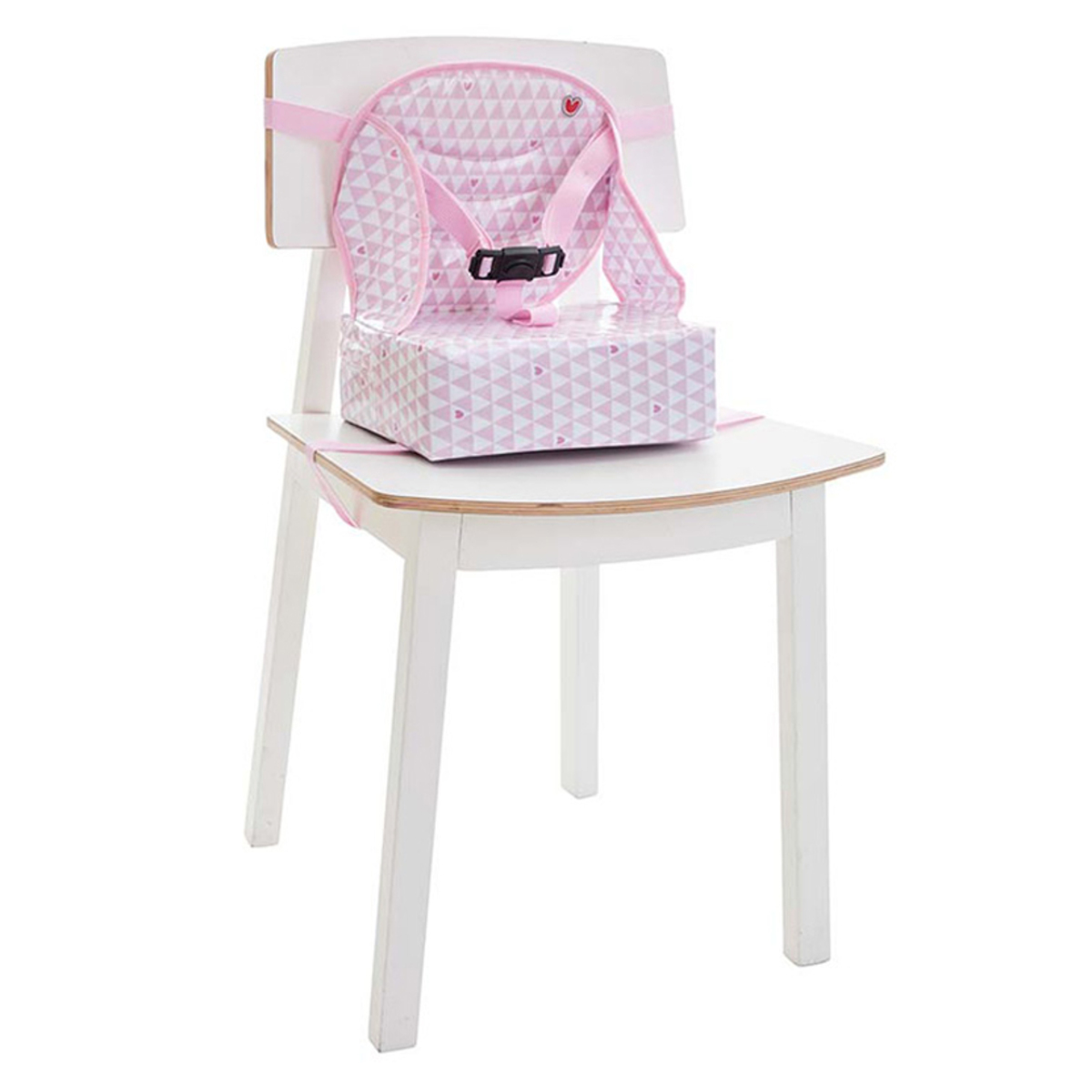 Chaise haute Rehausseur Easy Up pour Chaise - Pink Heart Rehausseur Easy Up pour Chaise - Pink Heart