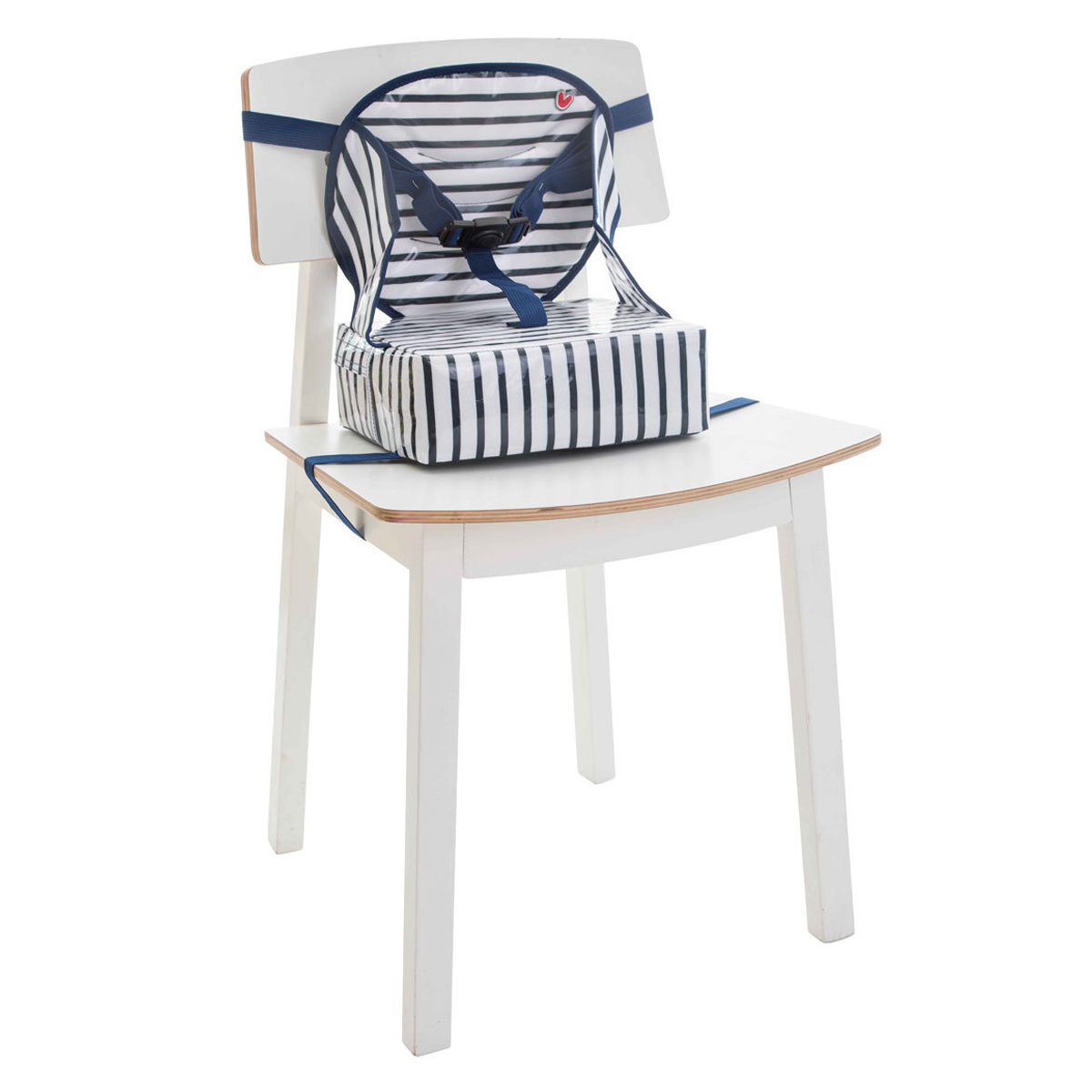 Chaise haute Rehausseur Easy Up pour Chaise - Blue Stripes Rehausseur Easy Up pour Chaise - Blue Stripes