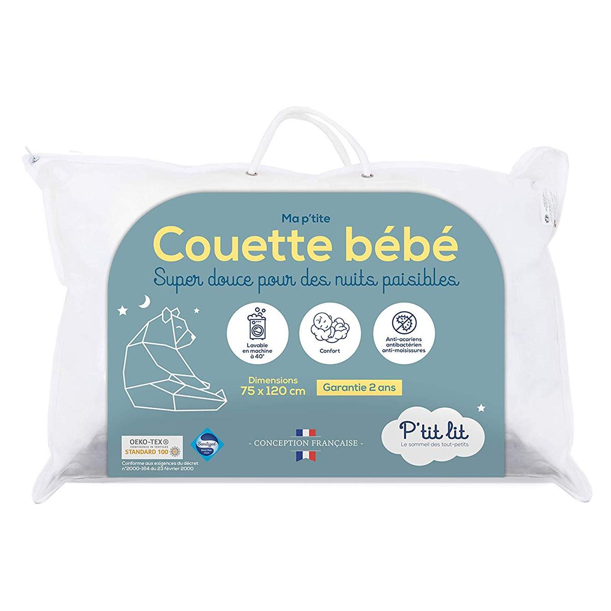 Linge de lit Couette Bébé Sanitized - 75 x 120 cm Couette Bébé Sanitized - 75 x 120 cm