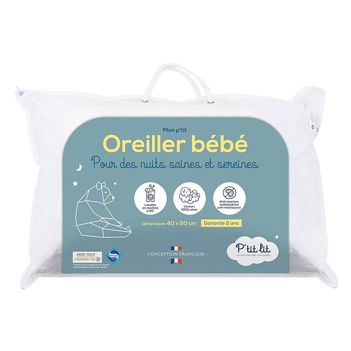 Inclinateur Oreiller Bébé Sanitized