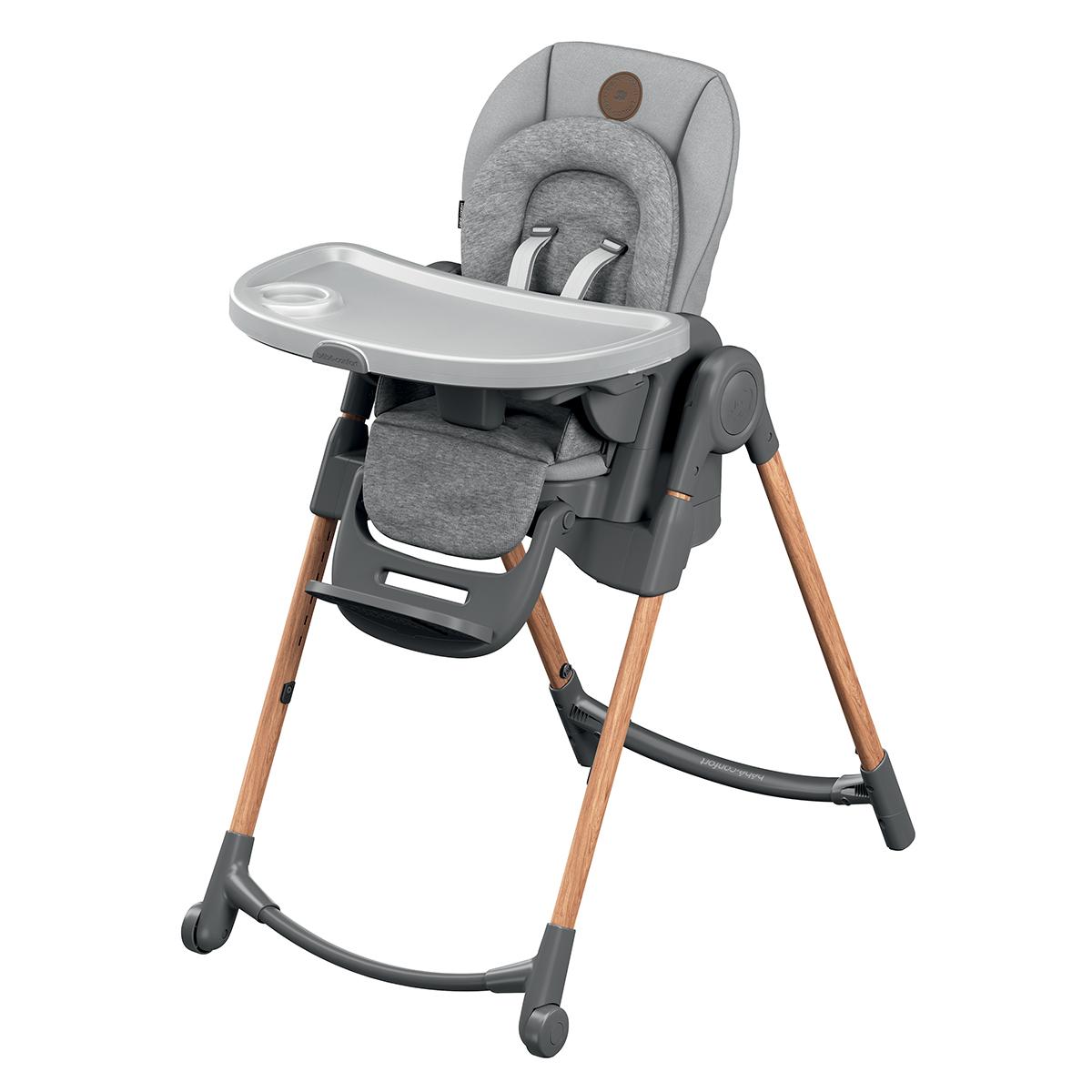 Chaise haute Chaise Haute Minla - Essential Grey Chaise Haute Minla - Essential Grey