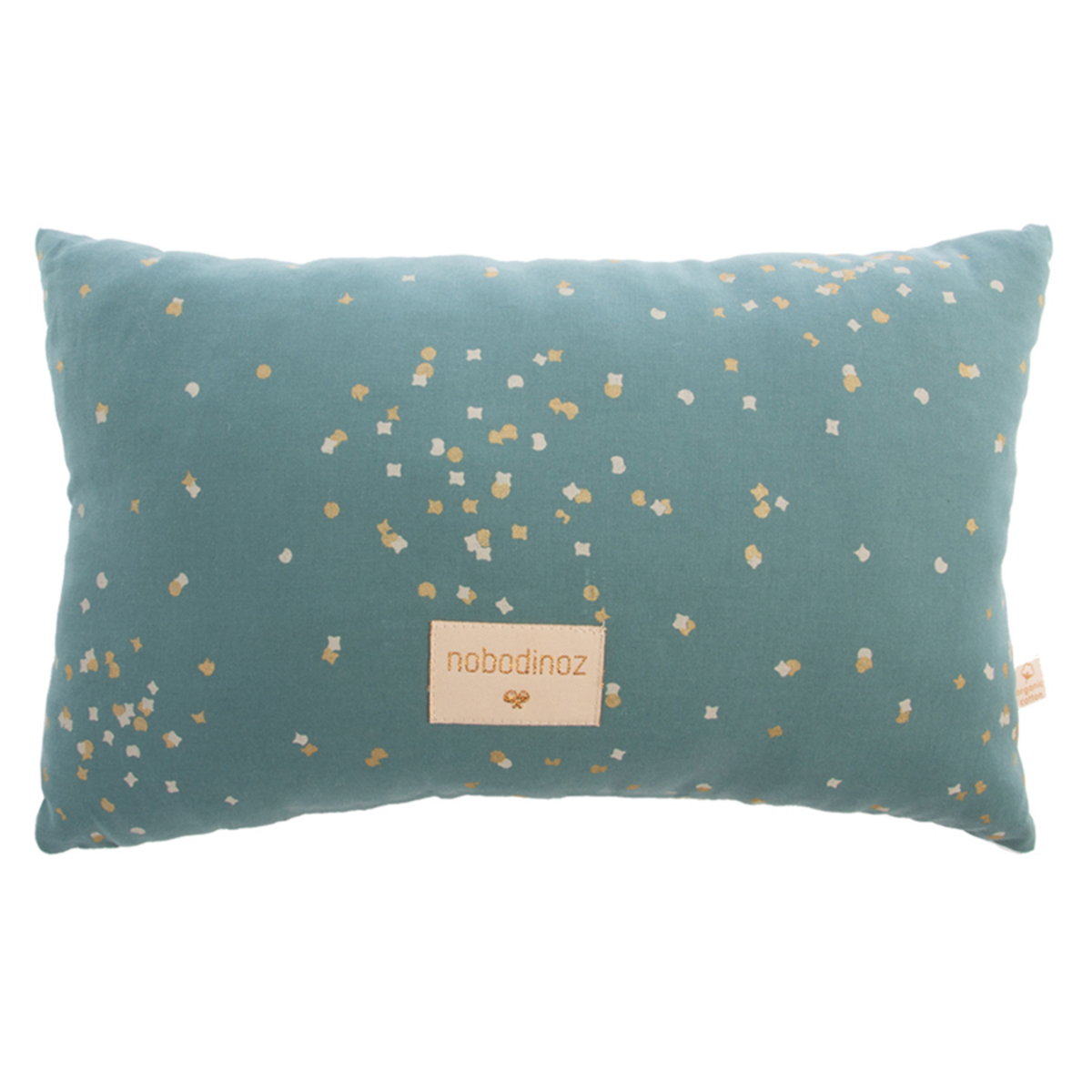 Coussin Petit Coussin Laurel - Gold Confetti & Magic Green Petit Coussin Laurel - Gold Confetti & Magic Green