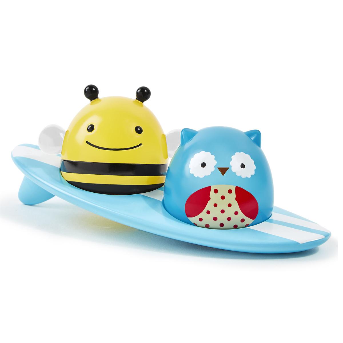 Mes premiers jouets Jouet de Bain Lumineux Zoo Animaux Surfeurs